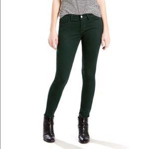Levi's | Demi Curve Mid Rise Skinny Corduroy Pants